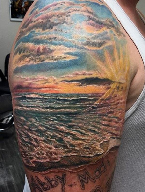 Beach Tattoos 56