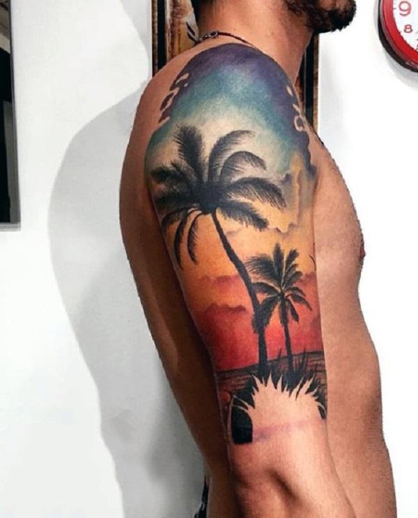 Beach Tattoos 57