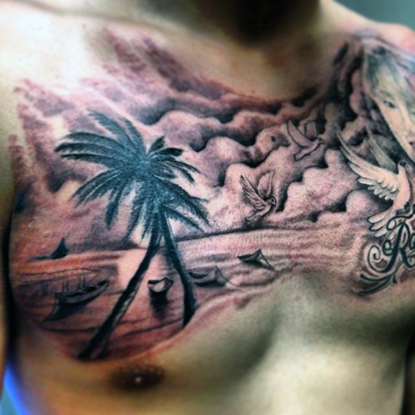 Beach Tattoos 59
