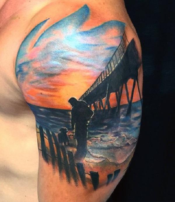 Beach Tattoos 6
