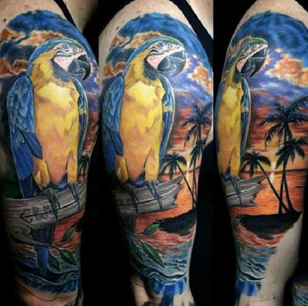 Beach Tattoos 8