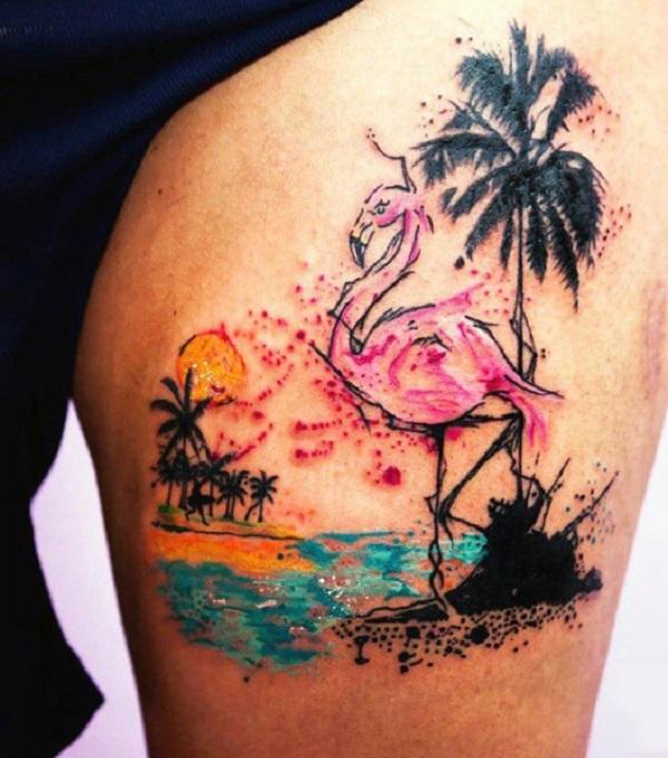 Beach Tattoos 9