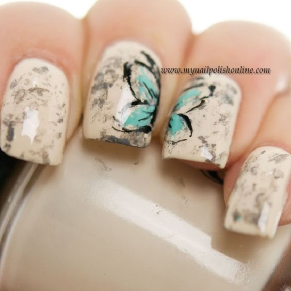 Butterfly Nail Art 1