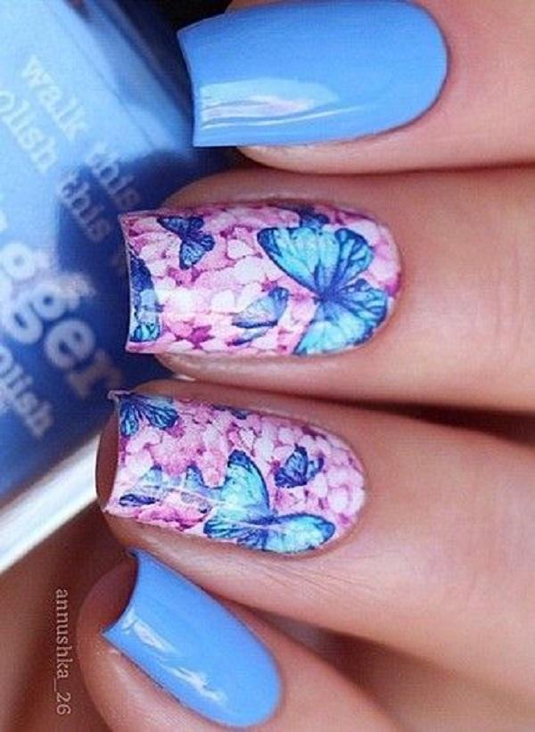 Butterfly Nail Art 10