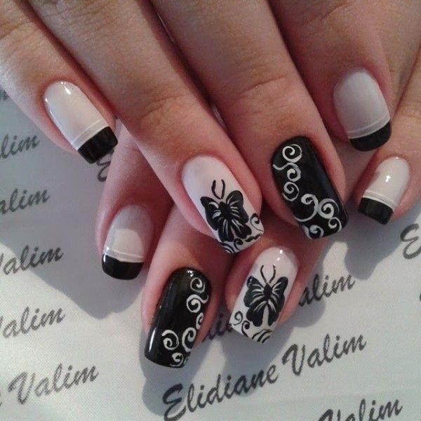Butterfly Nail Art 13