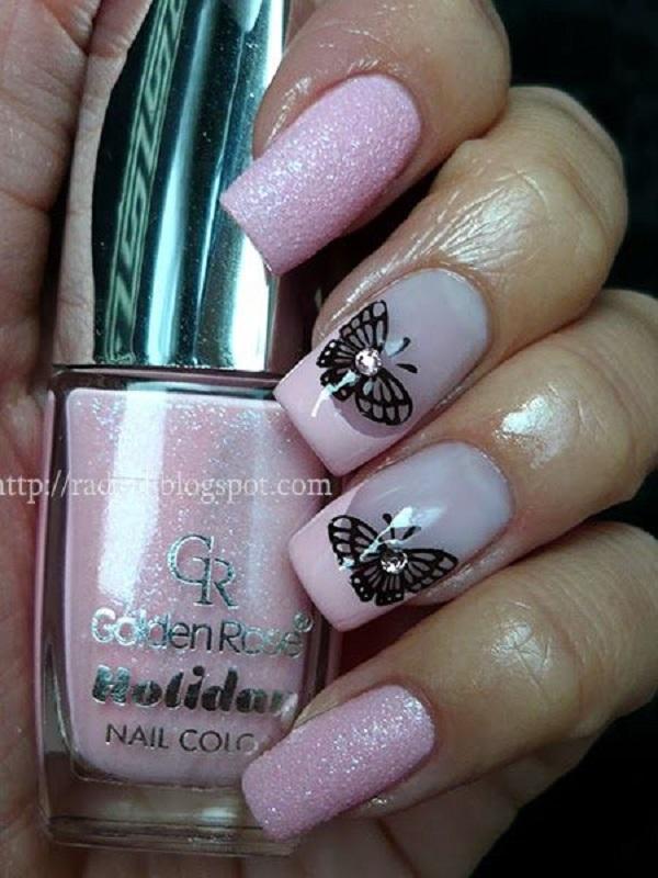 Butterfly Nail Art 18