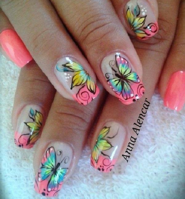 Butterfly Nail Art 19