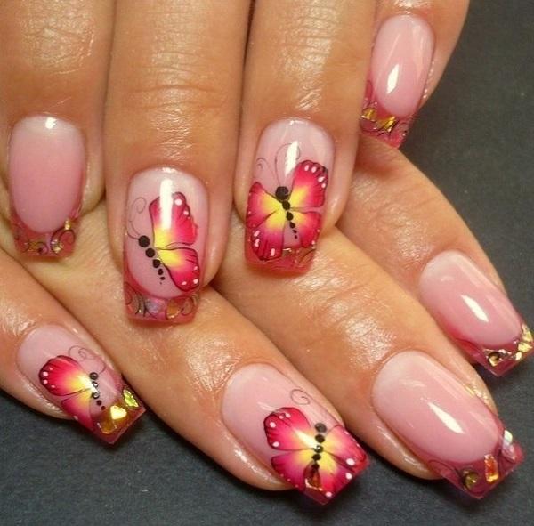 Butterfly Nail Art 2