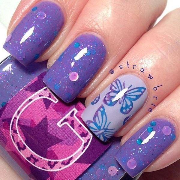 Butterfly Nail Art 20