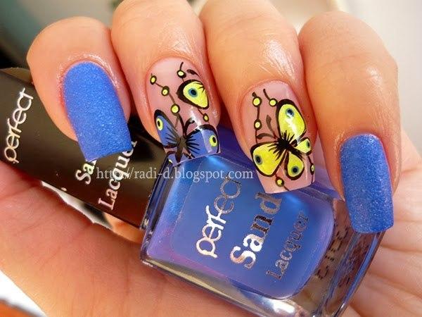 Butterfly Nail Art 25