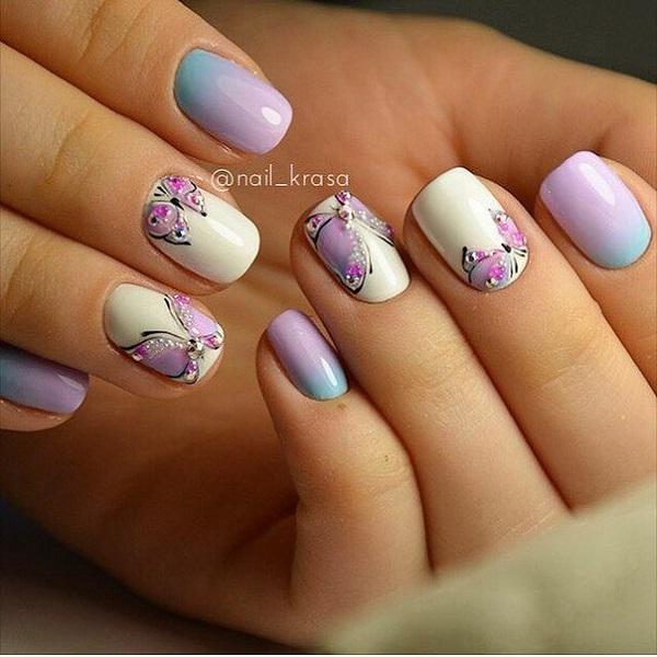 Butterfly Nail Art 28