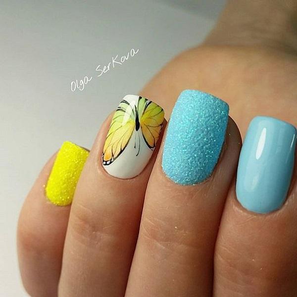 Butterfly Nail Art 30