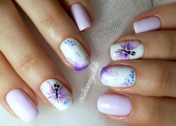 Butterfly Nail Art 31