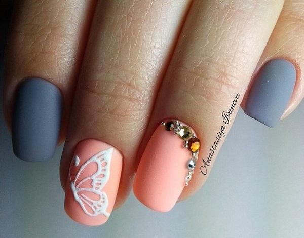 Butterfly Nail Art 32