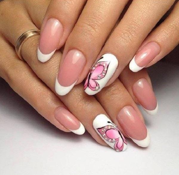 Butterfly Nail Art 4