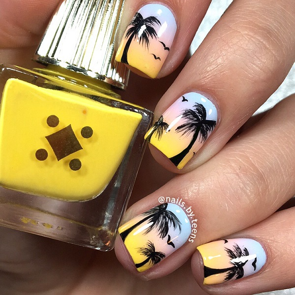 Palm Tree Nail Ar 41