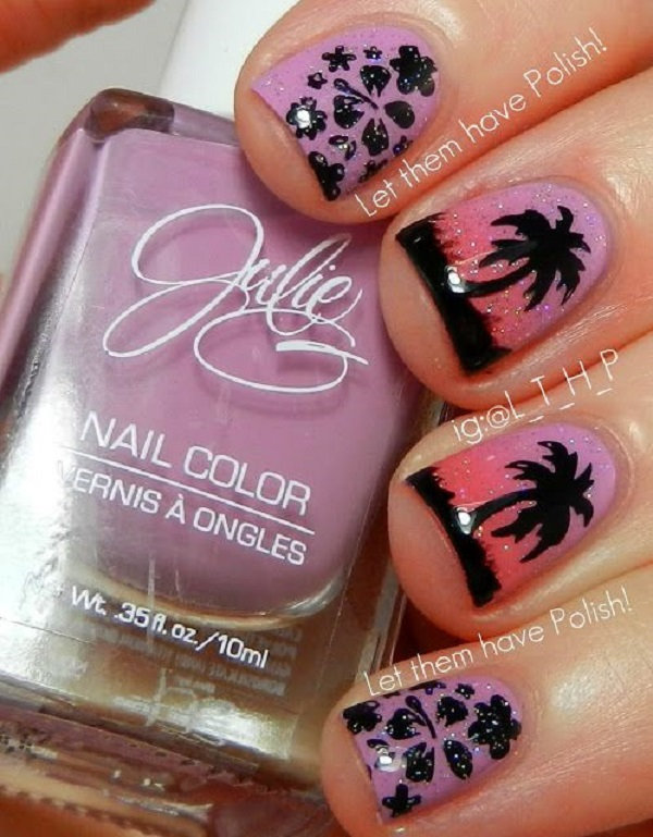 Palm Tree Nail Ar 42