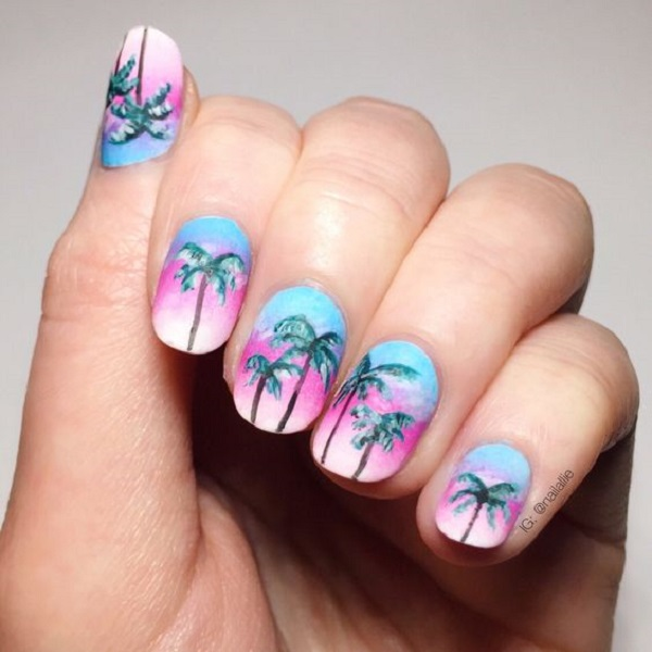 Palm Tree Nail Ar 47