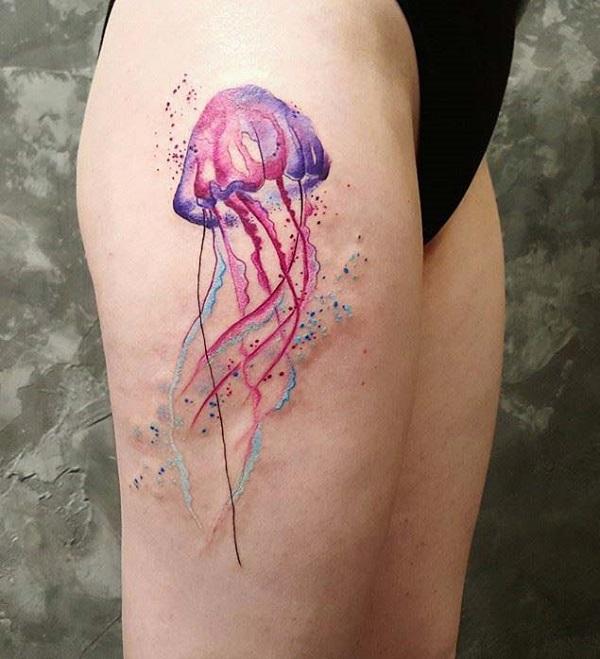 Jellyfish Tattoo 1