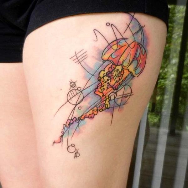 Jellyfish Tattoo 16