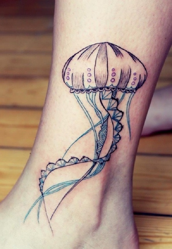 Jellyfish Tattoo 38