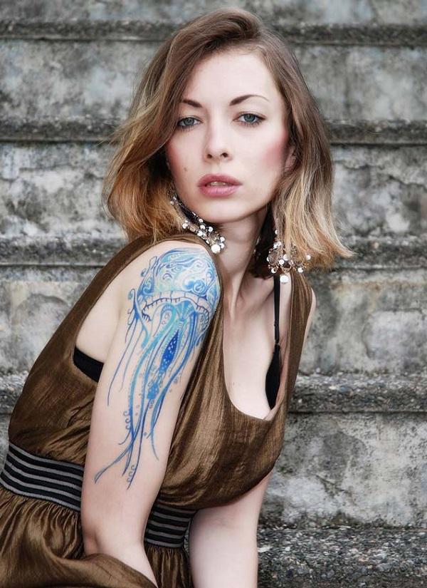 Jellyfish Tattoo 6