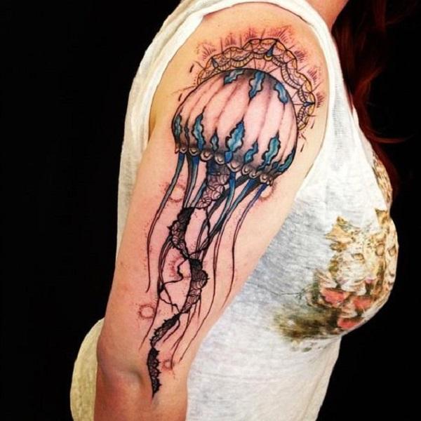 Jellyfish Tattoo 8