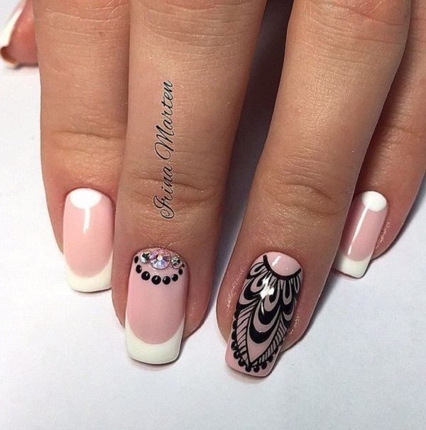 30 nail art designs for summer nenuno creative when youre a fan of tribal designs then this summer nail art design will prinsesfo Choice Image