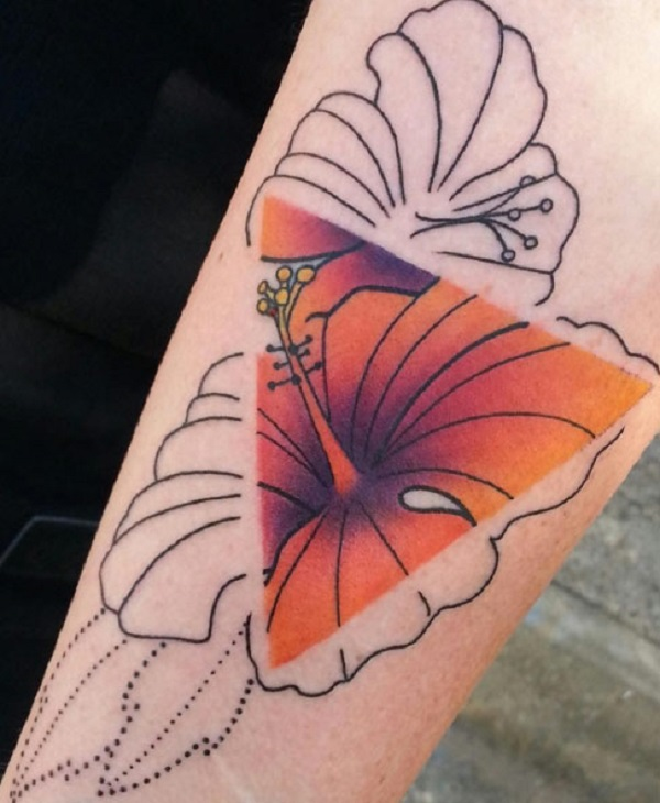 Triangular Glyph Tattoos 4