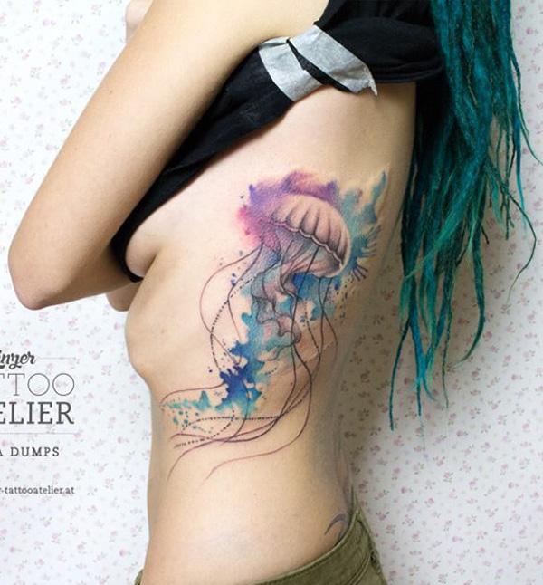 Jellyfish tattoo-44