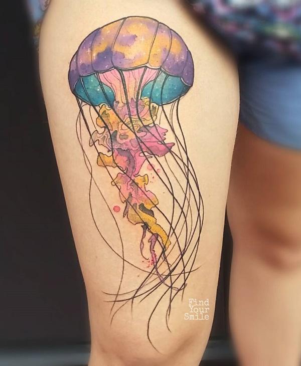 Jellyfish tattoo-49