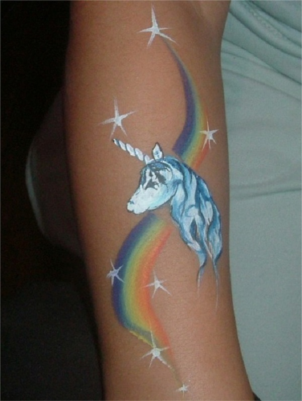Unicorn Tattoo Design 26