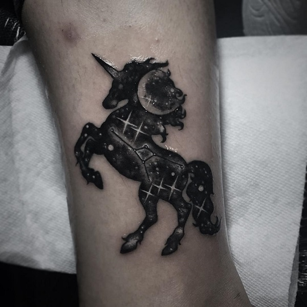 Unicorn Tattoo Design 27