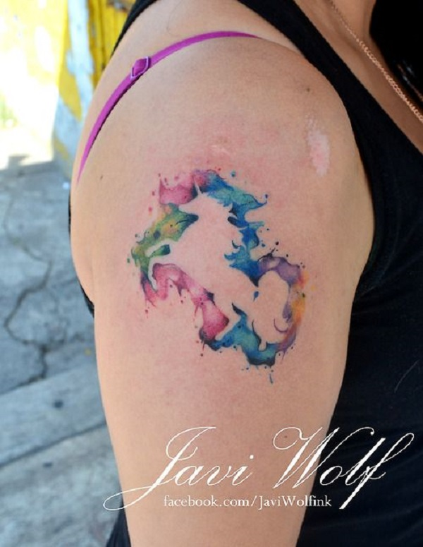 Unicorn Tattoo Design 35