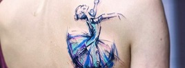 65+ Lovely Dance Tattoo  Designs