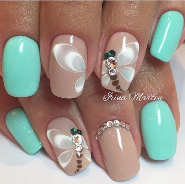 green-nail-art-design-1