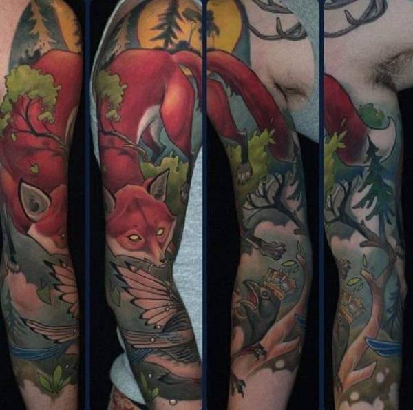 fox-tattoo-designs-37