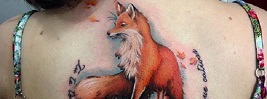 40 Amazing Fox Tattoo Designs