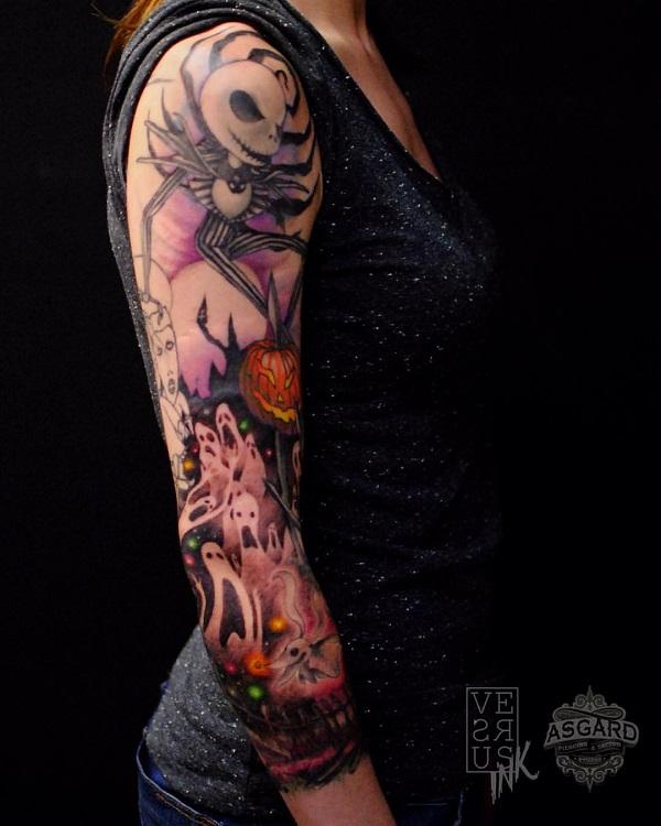 Halloween tattoo designs nenuno creative