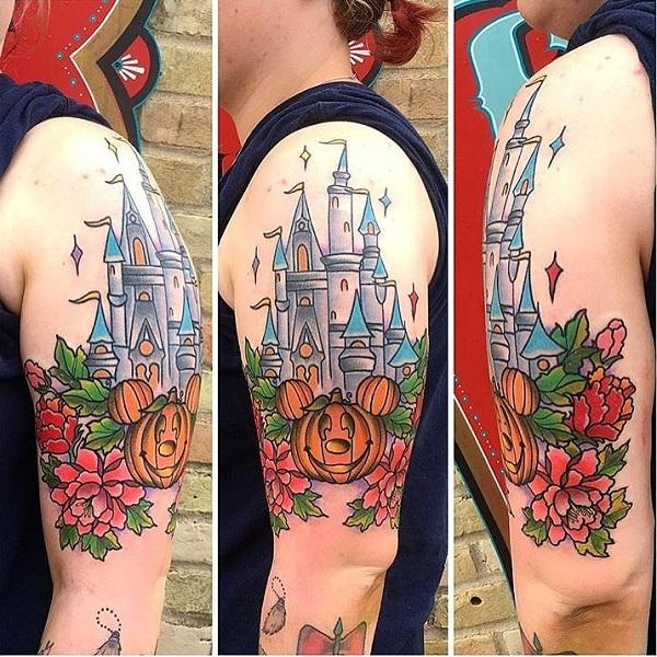 Tattoo Designs Uk: 55 Halloween Tattoo Designs