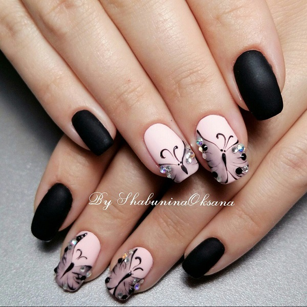 black-nail-art-designs-17