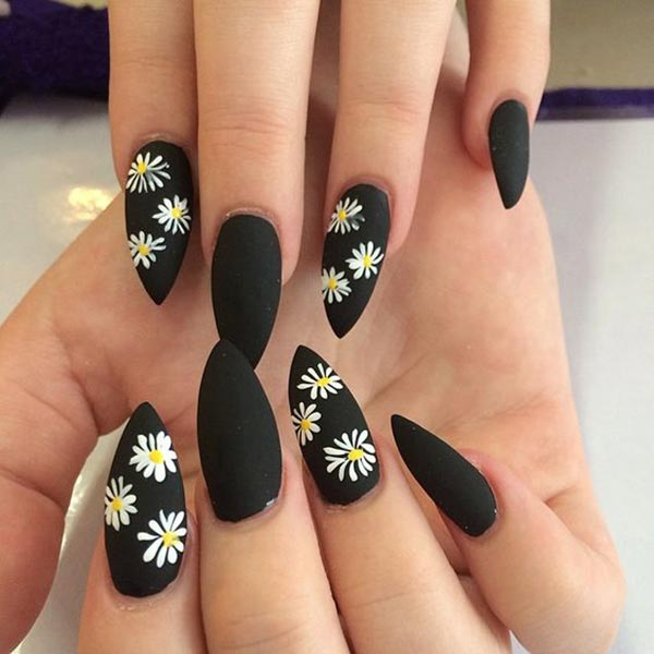 50 BLACK NAIL ART DESIGNS - nenuno creative