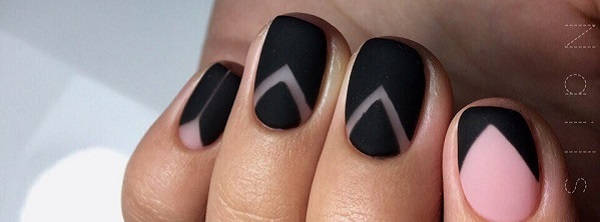 50 BLACK NAIL ART DESIGNS - 50 BLACK NAIL ART DESIGNS - Nenuno Creative