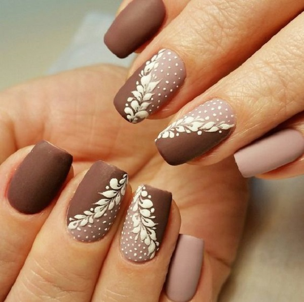 nail-designs-for-winter - 35 Nail Designs For Winter <3 - 35 Nail Designs For Winter - Nenuno Creative