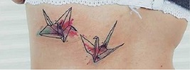 65 Origami Bird Tattoos