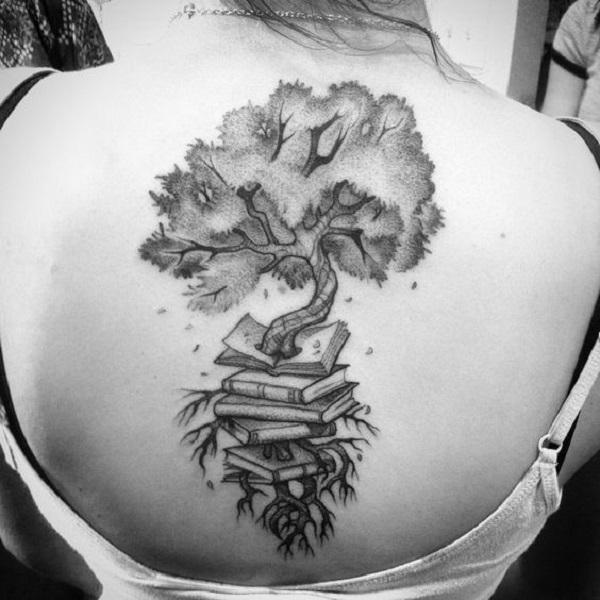 45 Amazing Book Tattoo Ideas - nenuno creative