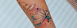 45 Amazing Book Tattoo Ideas