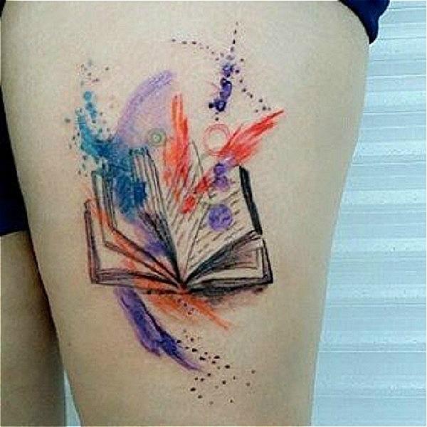 45 Amazing Book Tattoo Ideas Nenuno Creative