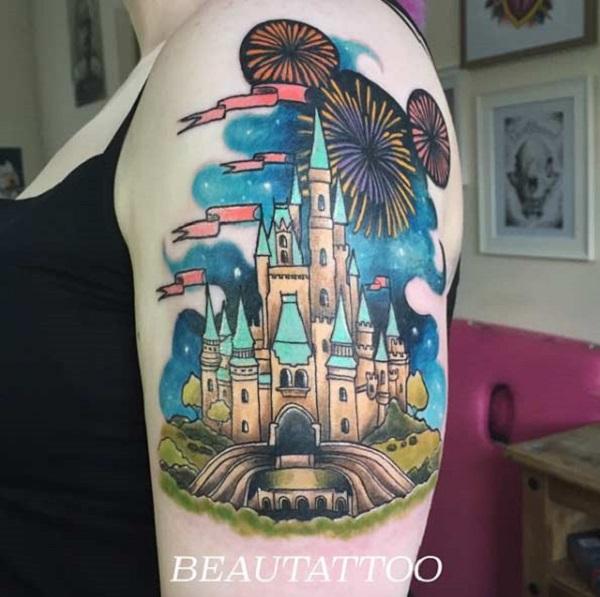bd5b4f283 Disney Castle on Arm. Disney castle on the arm is for all the Disney nerds