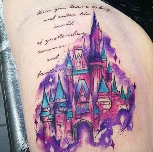 1494e4bcc Colorful Fairy Tale Castle. Enter the world of fantasy and dreams by having  this amazing